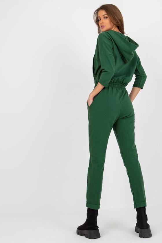 Rožinės spalvos suknelė atvirais pečiais_182062