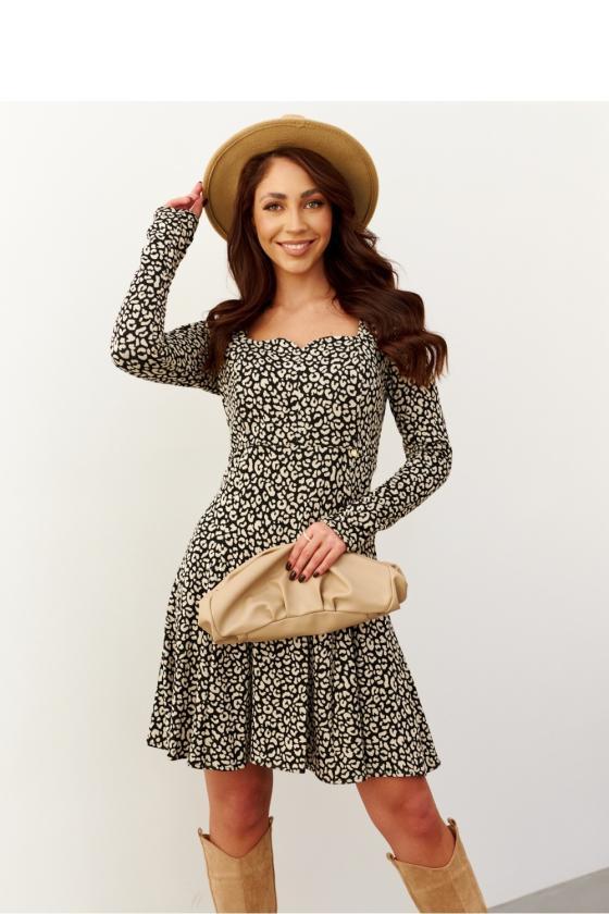 Juodos spalvos švarko tipo suknelė_182486