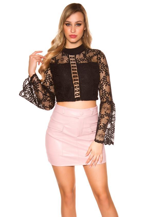 Bordinės spalvos suknelė 170-5_182863