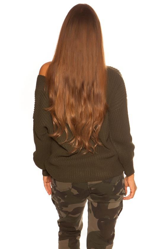 Raudonos spalvos elegantiška suknelė ELENA_183431