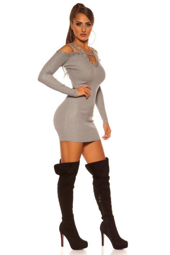 Juodos spalvos mini suknelė_183728