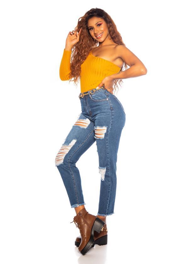 Žydros spalvos suknelė 66047