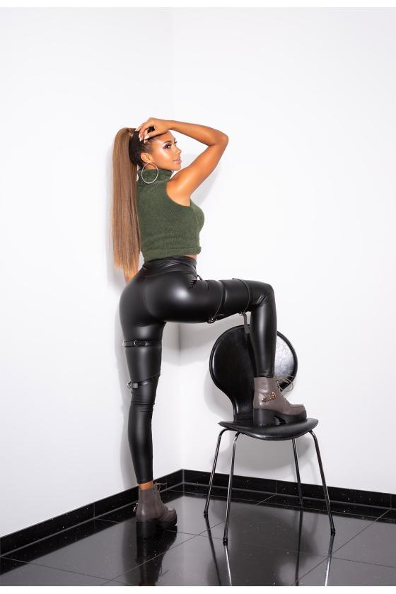 Kapučino spalvos viskozinė suknelė