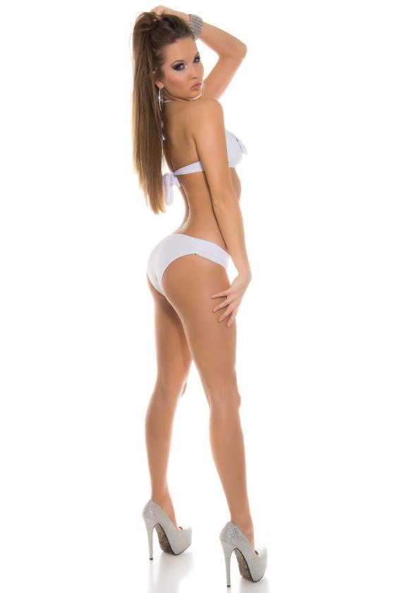 Mėlynos spalvos plėšyti džinsai_186660