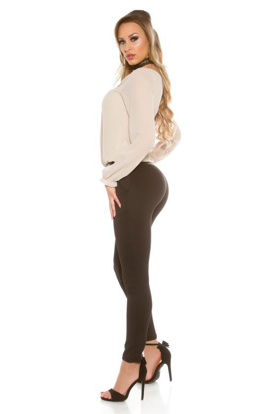 """Persiko spalvos laisvalaikio suknelė su gobtuvu """"Brooklyn""""_190282"""