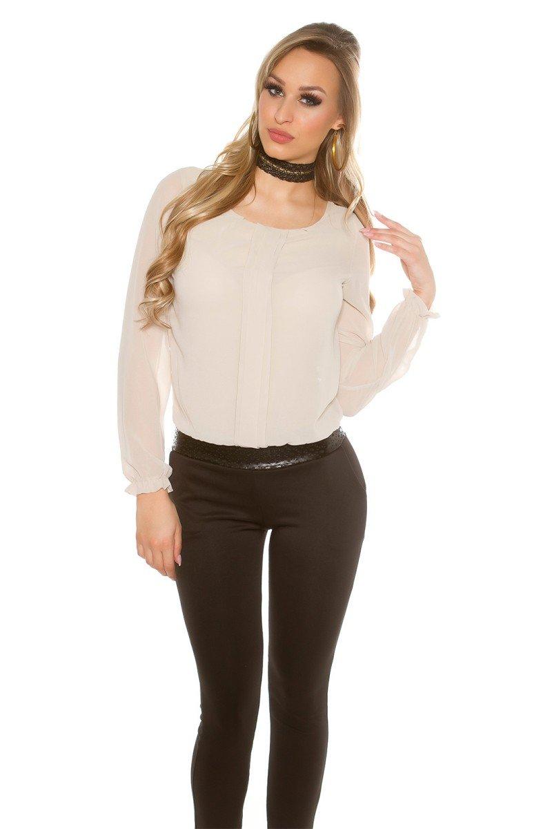 """Persiko spalvos laisvalaikio suknelė su gobtuvu """"Brooklyn""""_190283"""