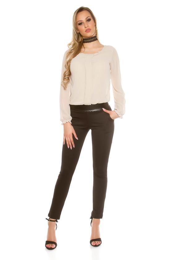 """Persiko spalvos laisvalaikio suknelė su gobtuvu """"Brooklyn""""_190284"""