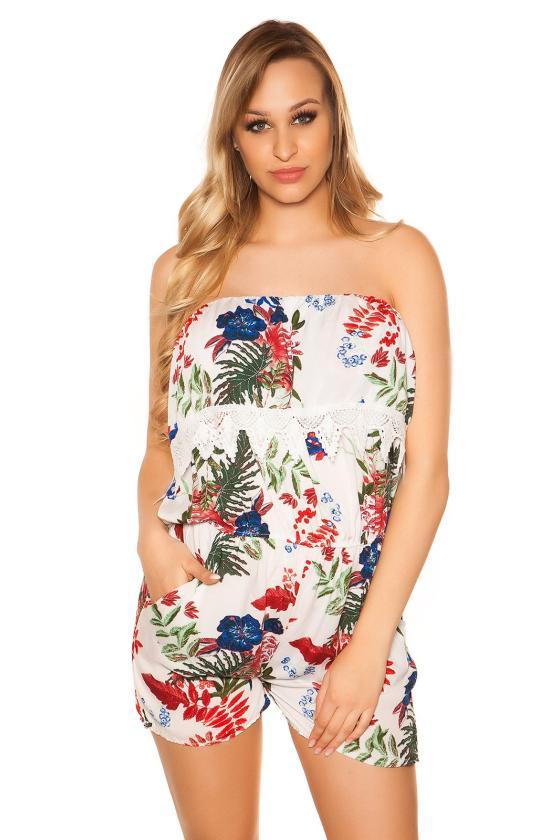 Raudonos spalvos laisvalaikio suknelė su gobtuvu_190390
