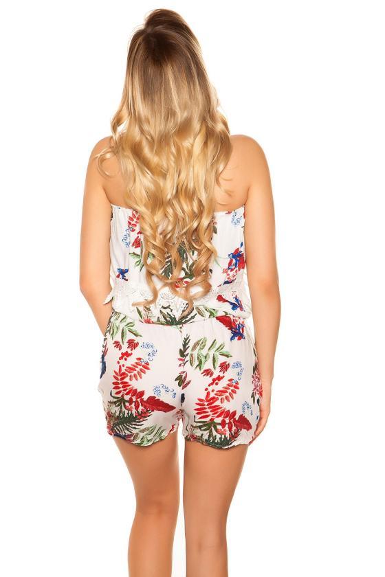 Raudonos spalvos laisvalaikio suknelė su gobtuvu_190391