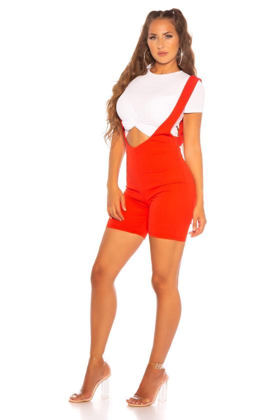 Geltonos spalvos boho stiliaus kostiumėlis