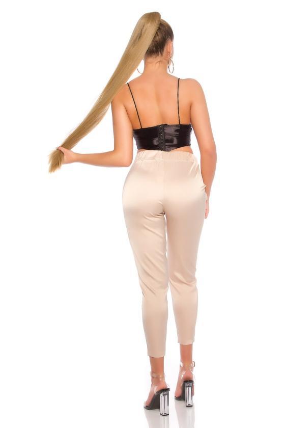 Chaki spalvos romantiška suknelė_191285