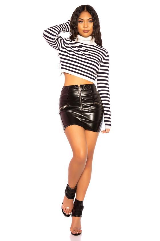 Raudonos spalvos ilga blizgi vakarinė suknelė_192461