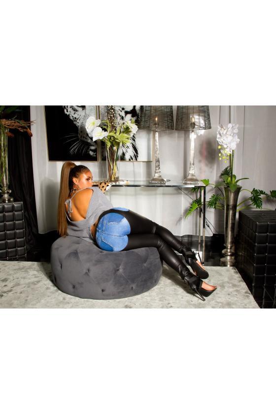 Violetinės spalvos gėlėta suknelė_192987