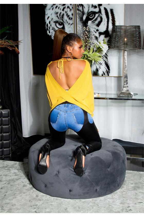 Abrikoso spalvos sijonas