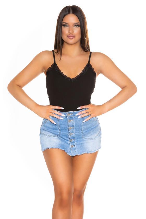 Mėlynos spalvos šilko imitacijos  suknelė_193876