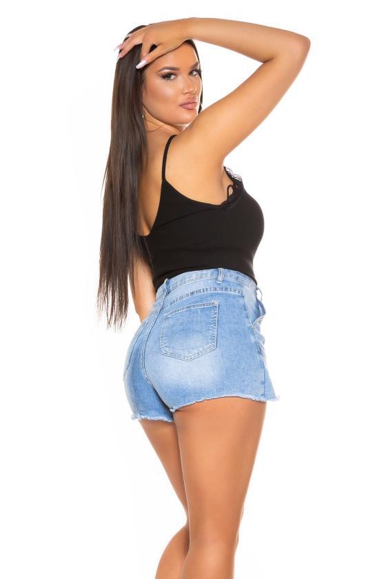 Mėlynos spalvos šilko imitacijos  suknelė_193877