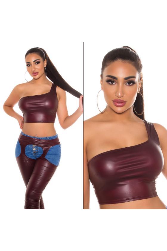 Žalios spalvos taškuota suknelė_193908