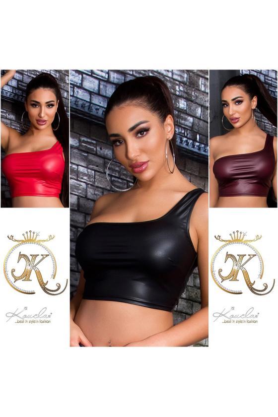Žalios spalvos taškuota suknelė