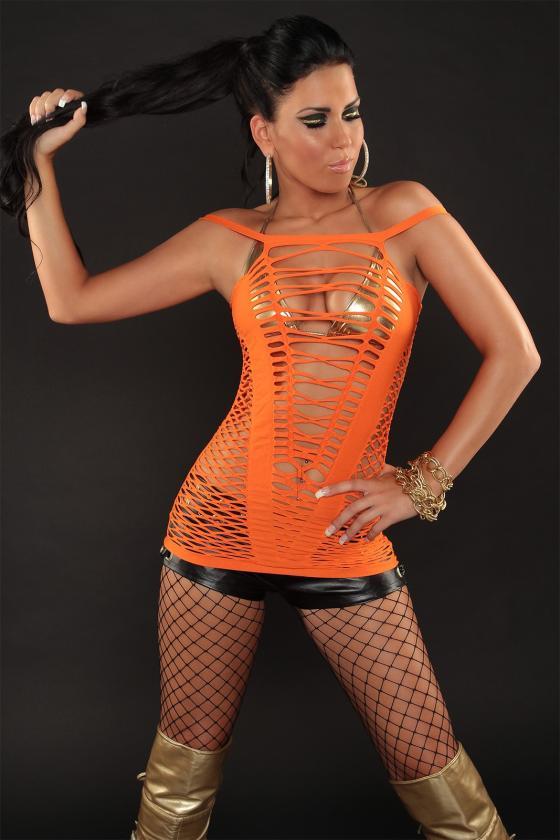 Ilga mėtinė boho stiliaus suknelė