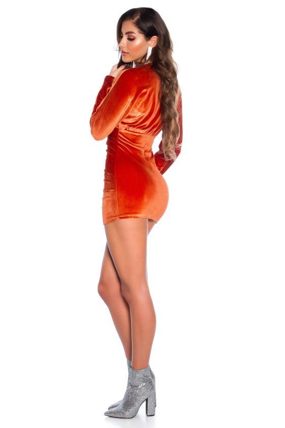 Rausvos spalvos seksuali MULTIWAY suknelė