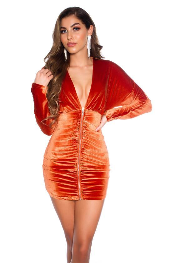 Raudonos spalvos seksuali MULTIWAY suknelė