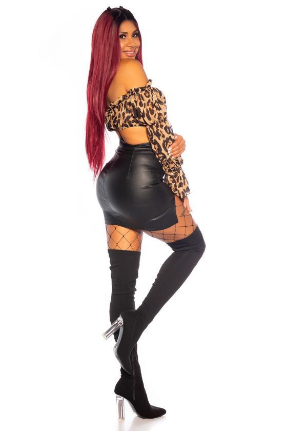"""Abrikoso spalvos suknelė """"KESI""""_197080"""