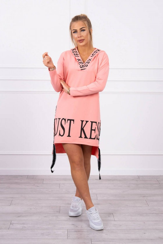 """Abrikoso spalvos suknelė """"KESI""""_197081"""
