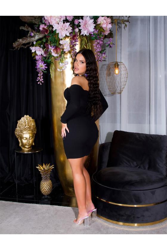 Elegantiški juodi marškiniai G-2199_197272