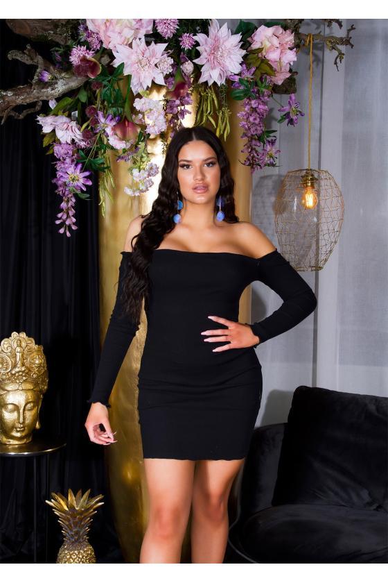 Elegantiški juodi marškiniai G-2199_197273