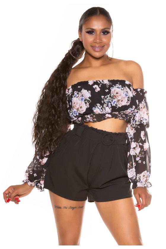 Madingi mom fit dviejų spalvų džinsai_198933