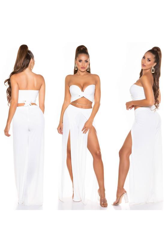 Chaki spalvos ilga suknelė_200257