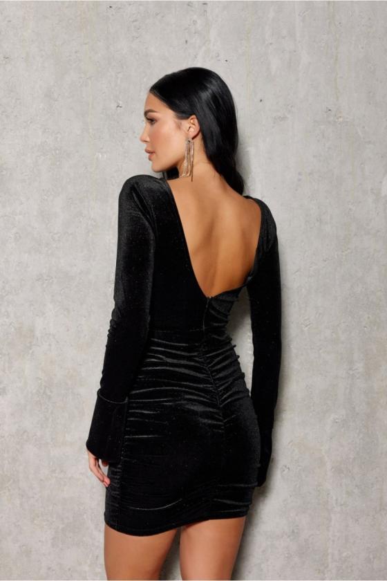 Juodos spalvos dviejų dalių kostiumėlis_200988