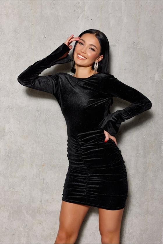 Juodos spalvos dviejų dalių kostiumėlis_200989