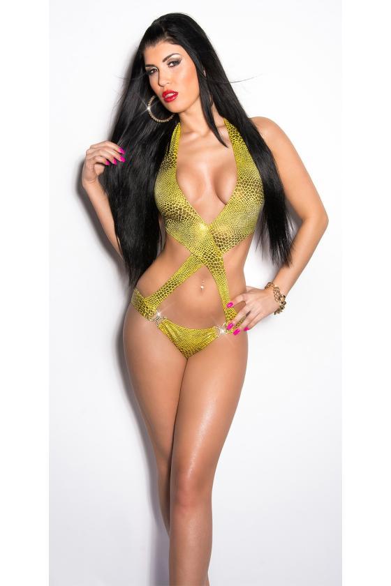 Indigo spalvos laisvalaikio suknelė 9865