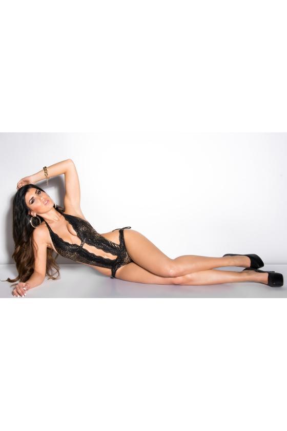 Juodos spalvos stilinga oversize suknelė_201196