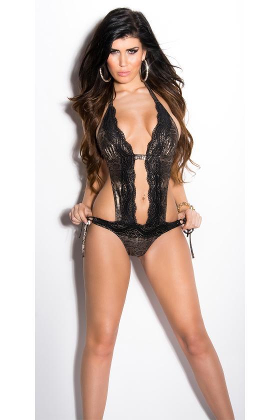 Elegantiška juoda vidutinio ilgio suknelė_201249