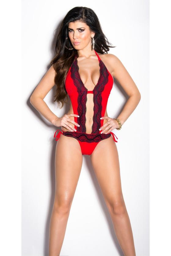 Elegantiška tamsiai mėlyna vidutinio ilgio suknelė