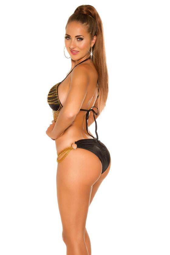 Pilkos spalvos suknelė su V formos iškirpte