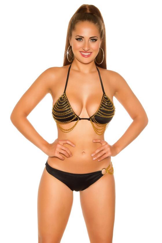 Pilkos spalvos suknelė su V formos iškirpte_202091