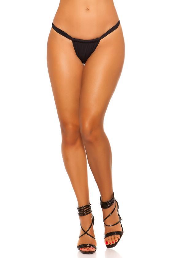 Aukšto liemens džinsinis sijonas su guma_202196
