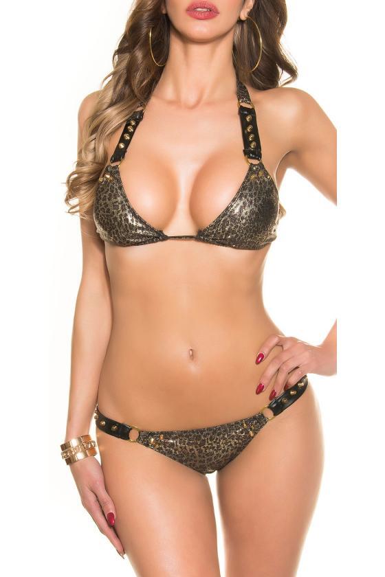 Smėlio spalvos suknelė 08241