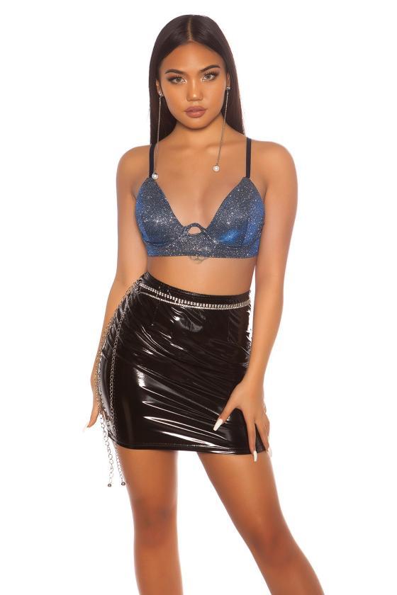 Smėlio spalvos laisvo modelio džinsai