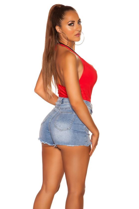 Raudonos spalvos elegantiškos kelnės_202853