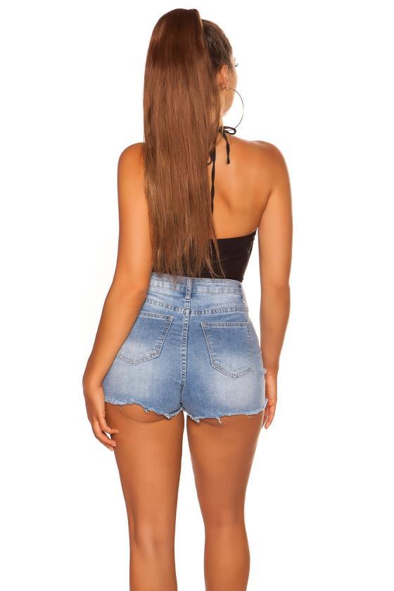 Žalios spalvos elegantiškos kelnės_202869
