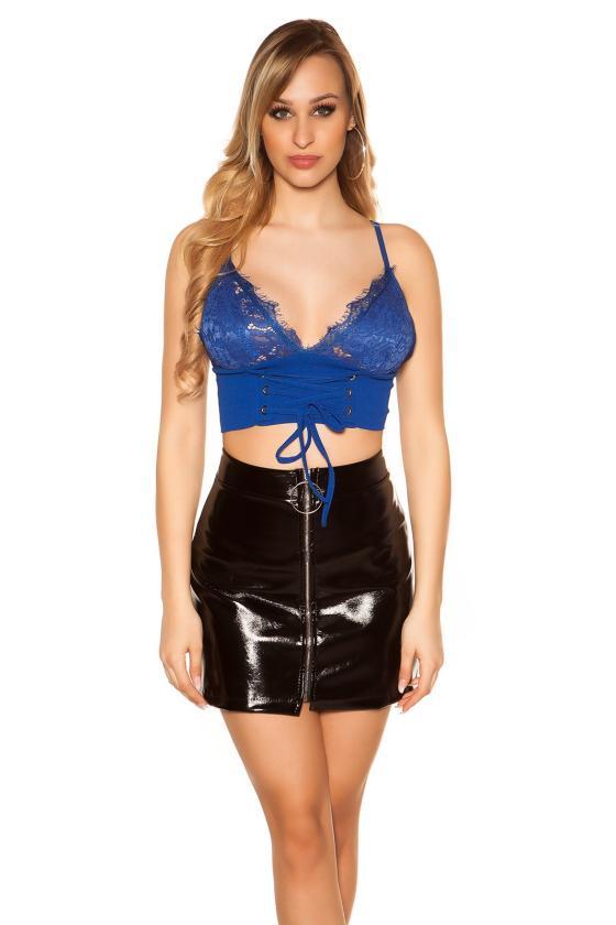 Geltonos spalvos marškiniai su užrašais