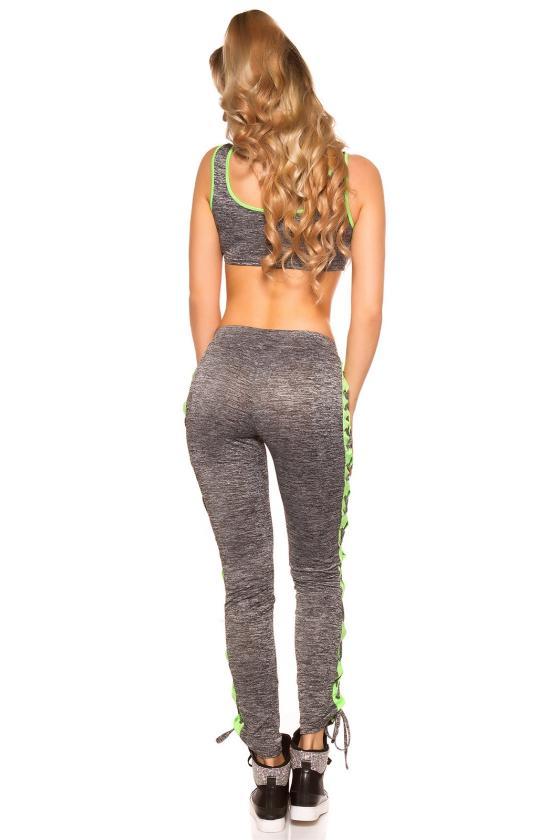 Žydros spalvos suknelė su tiuliu FK585_203002