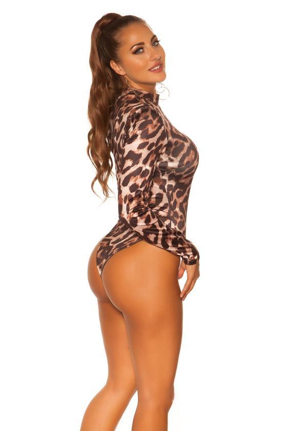 Pudros spalvos suknelė MP32875