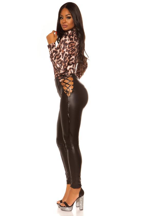 Pudros spalvos suknelė MP32875_203297