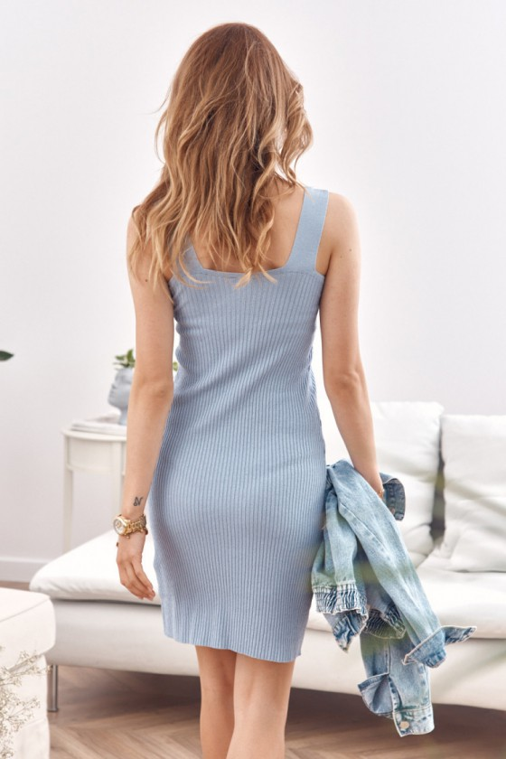 Žydros spalvos suknelė MP32875_203303