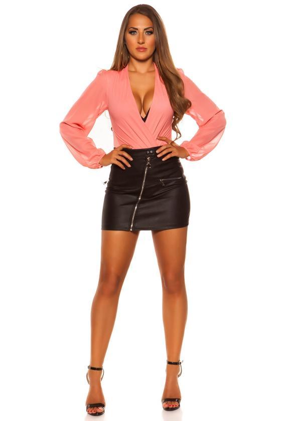 Tamsiai mėlynos spalvos suknelė FK558_203386